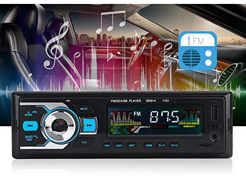 Receivers USB//SD//Audio Supports Hands Free Calling Cavogin Single-Din Bluetooth Car Stereo In Dash with Remote Control MP3 Player//FM Radio Digital Car Stereo