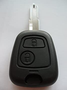 Remotefobcentre A24 Replacement 2 Button Flip Key Fob Case