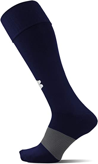 Under Armour 1264790-100 Mens UA Soccer Solid Over-The-Calf Socks