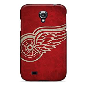 New Style Evanhappy42 Hard Cases Covers For Galaxy S4- Detroit Red Wings