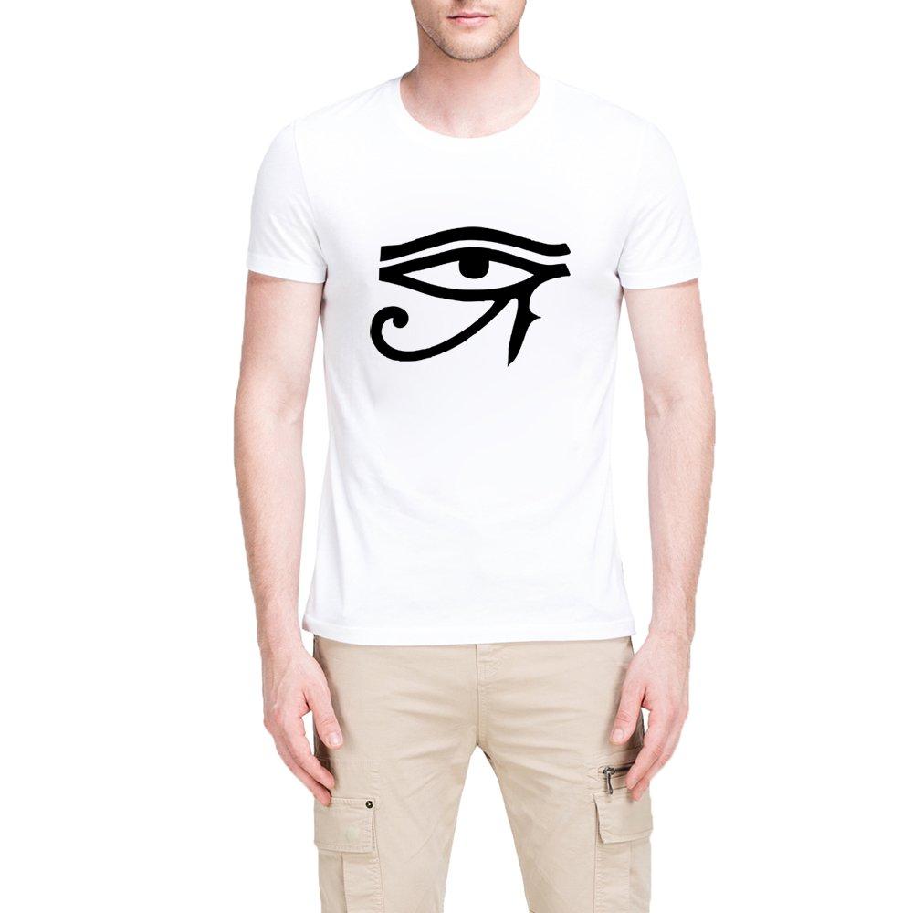 Loo Show Eyes Of Horus Casual T Shirts Tee