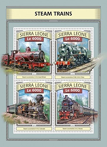 Sierra Leone - 2016 Steam Trains - 4 Sta - Britain Sierra Leone Shopping Results