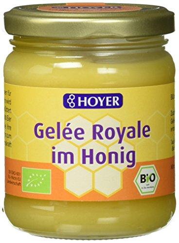 Hoyer Gelée Royale im Honig Bio Produkt, 2er Pack (2 x 250 g)