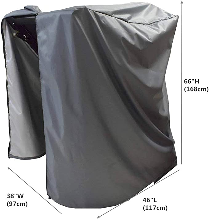 Folconauto Treadmill Cover Running Machine Cover Dust Cover Waterproof and UV Resistant Cover Oxford Fabric Furniture Cover