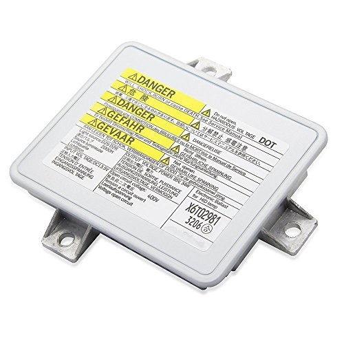 Xenon HID Headlight Ballast Control Unit Module-for 2002-2005 Acura TL & 2004-2005 Acura TSX & 2004-2009 Honda S2000 & 2004-2006 Mazda 3 Replace# W3T10471 X6T02981