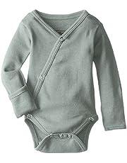 Lovedbaby Baby-Boys Organic Kimono Bodysuit, Seafoam, 0-3m