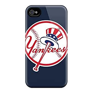 Rosesea Custom Personalized Unique Design Case For HTC One M7 Coverplus Durable Cases Covers Baseball New York Yankees
