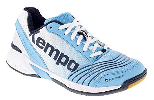 Kempa Attack Three, Damen Handballschuhe, Mehrfarbig (True Bleu/Blanc/Bl Marine), 39.5 EU