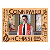 6PC Confirmed in Christ Confirmation Photo Frame