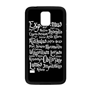 Nymeria 19 Customized Harry Potter Quotes Diy Design For Samsung Galaxy S5 Hard Back Cover Case DE-204