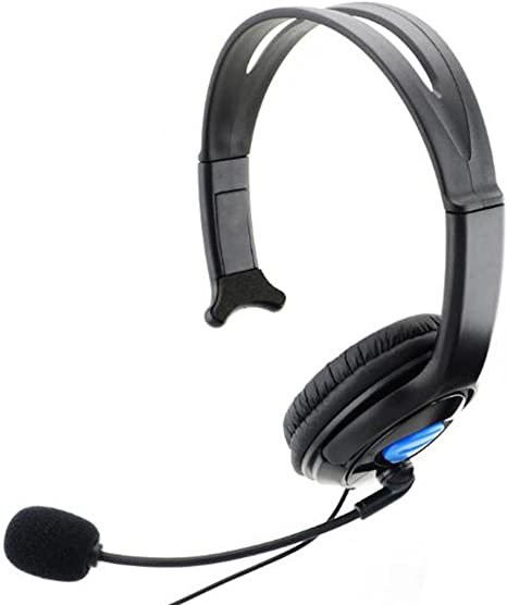 Wired Gaming chat Headset auricular micrófono para Sony PS4 ...