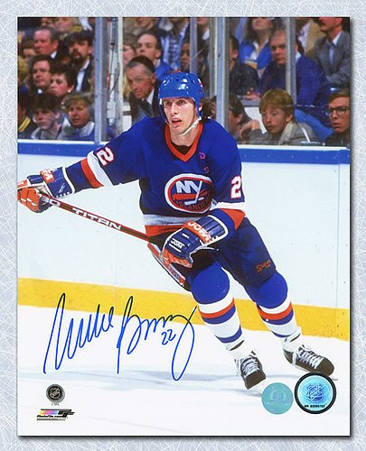 Mike Bossy New York Islanders Autographed Hockey Captain 8x10 Photo - Signed Hockey Pictures