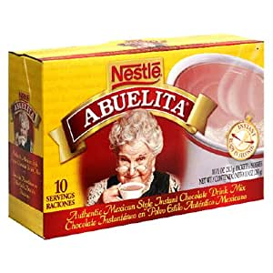 Nestle Mexican Chocolate Abuelita Drink Mix, 10 Packets in 10-Ounce Box (Pack of 6)