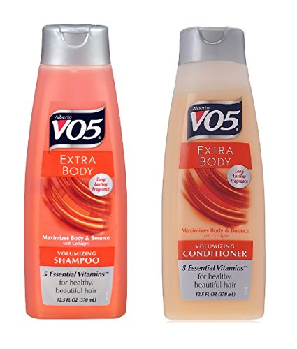 Alberto VO5 Extra Body Volumizing Shampoo and Conditioner, 15 OZ each ( 2 PACK (Alberto Vo5 Volumizing Conditioner)