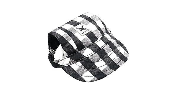 URIJK Sombrero de perro - Gorra de béisbol para mascotas - Visera ...