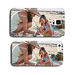 mother daughter fishing beach cell phone cover case Samsung S5