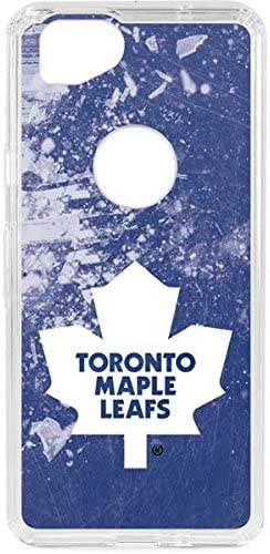 Amazon Com Skinit Clear Phone Case For Google Pixel 2 Officially Licensed Nhl Toronto Maple Leafs Frozen Design