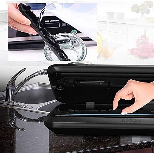 Vacuüm sealer machine, huishoudelijke en commerciële hand-gecontroleerde vacuüm low-verlies individuele afdichting, roestvrij staal is gemakkelijk schoon te maken