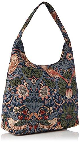 femme sac mode Fraise tapisserie d'épaule besace Signare bleu voleur Sq47X