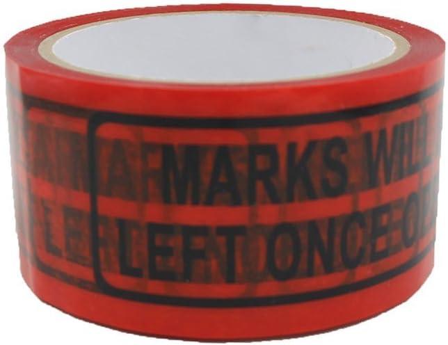 Solitary Walker manomissioni nastro Legend lascia segni dopo l apertura di sicurezza 1 in.(25mm) x 55yds Red