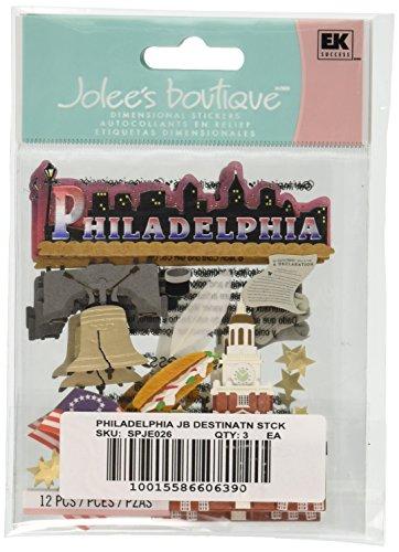 Jolee's Boutique Philadelphia Destination Stickers