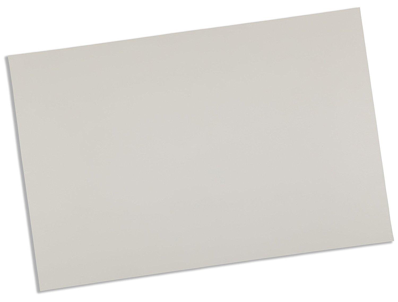 Rolyan Splinting Material Sheet, Polyflex II, White, 1/16'' x 6'' x 9'', Solid, Single Sheet