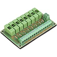 UHPPOTE 8 Way Circuit Fuse Module DC12V-24V PCB Board Prevent Lock To Be Burned In Case of Short Circuit