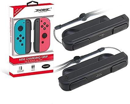 Amazon.com: IVSO – joy-con Grip de carga para Nintendo ...