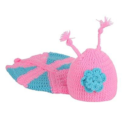 Toyvian Alas de mariposa hechas a mano Bebé recién nacido Accesorios de fotografía Conjunto de ropa