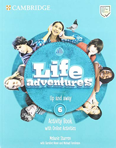 Life Adventures Level 6 Activity Book with Home Booklet and Online Activities por Melanie Starren,Caroline Nixon,Michael Tomlinson