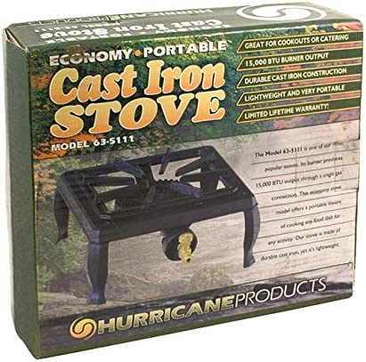 Cast Iron Single Burner Propane Stove