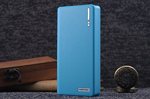 50000mAh Backup External Battery USB Power Bank Pack Charger for Cell Phone, Blue