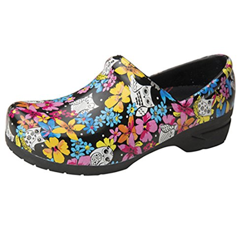 Anywear Srangel Closed Back Plastic Clog, Fine Feathered Friends, 10 M US by Anywear (Image #1)