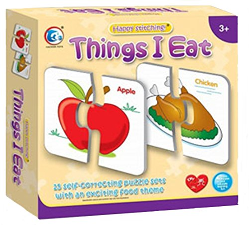 Learning Puzzle - Things I Eat (15 Pcs)