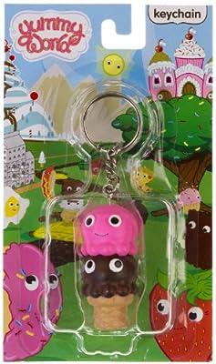 """Ice Cream Cone ~2"""" Mini-Figure Keychain: Yummy World Keychain Series"""