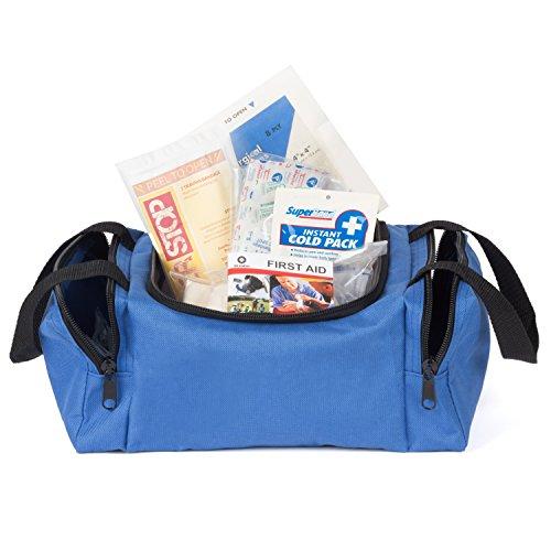 Eco Medix First Aid Kit Emergency Response Bag Fully Stocked  Blue