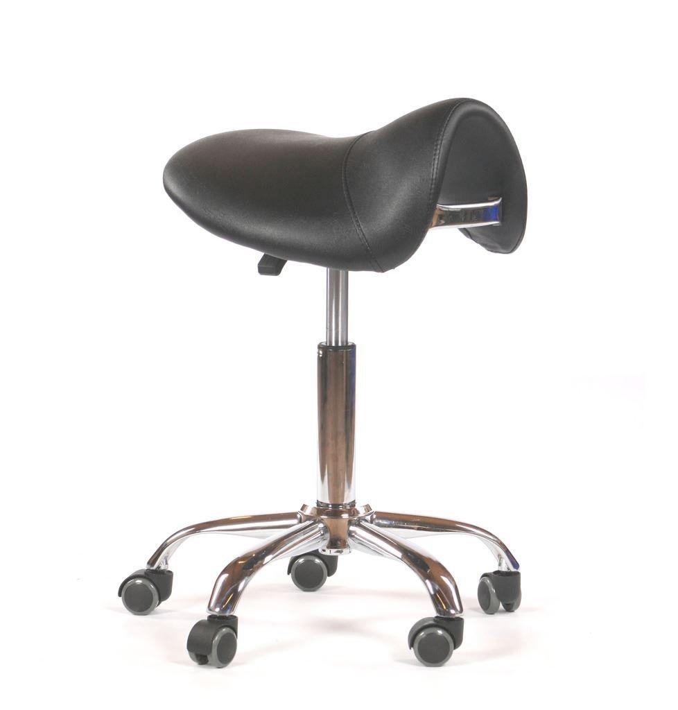 Urbanity hairdressing cutting beauty manicure nail salon chair saddle stool black