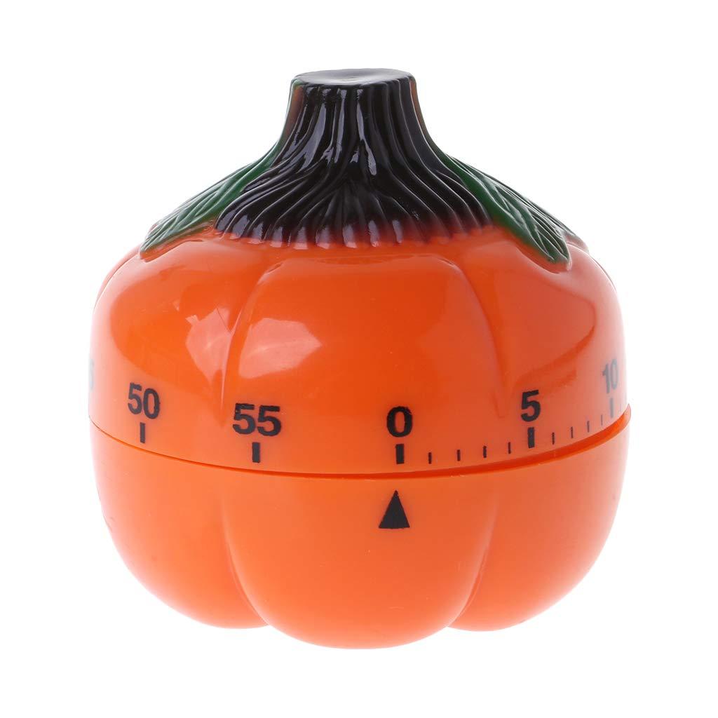 Besttse Pumpkin 60 minutos Temporizador mecánico cuenta atrás alarma cocina cocina herramienta recordatorio