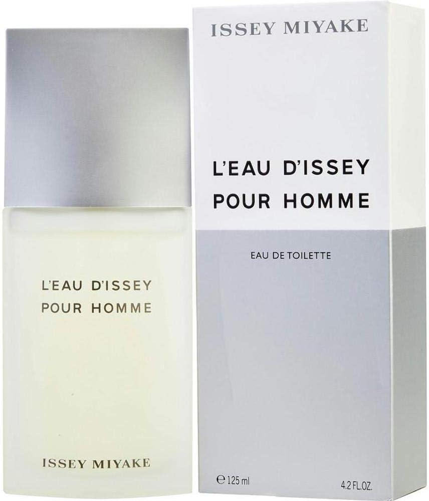 Issey Miyake - L'Eau D'Issey pour Homme - Agua De Tocador Vaporizador, 125 ml