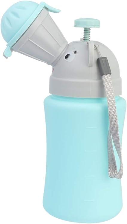 Healifty Ni/ño Orinal Orinal Inodoro de Emergencia a Prueba de Fugas Urinie Contenedor Urinario Port/átil Entrenamiento para Ni/ños Orinar en Casa Camping Auto Viajes para Ni/ños
