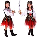 Kids Halloween Costumes Girls Pirate Costume for Party - Cosplay Costume For Children Kids