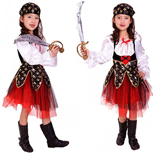 Kids Halloween Costumes Girls Pirate Costume for Party, Cosplay Costume For Children (Octonaut Halloween Costume)