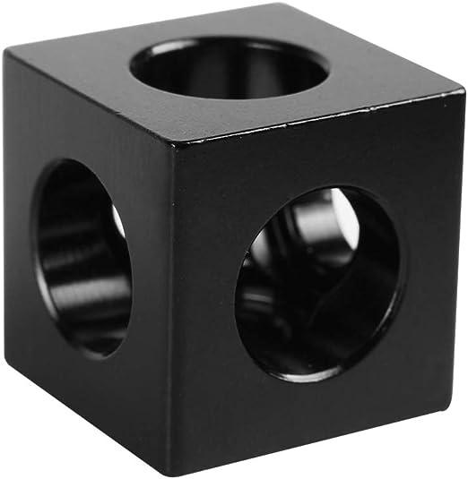 JUNESUN - Delimitador en Forma de Cubo con Ranura en V en Tres ...