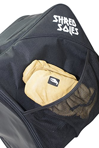Shred Soles Snowboard Ski Boot Bag Pack with Changing Mat, Helmet & Goggle Pocket by Shred Soles (Image #5)