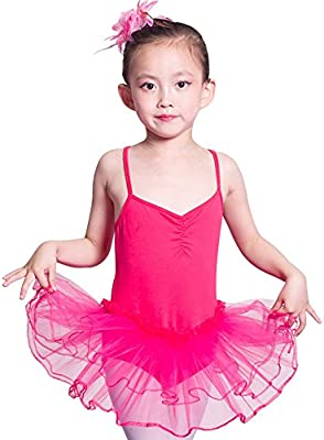 iMixCity Baile de Ballet Jersey Camiseta de Niña Maillot Traje de ...