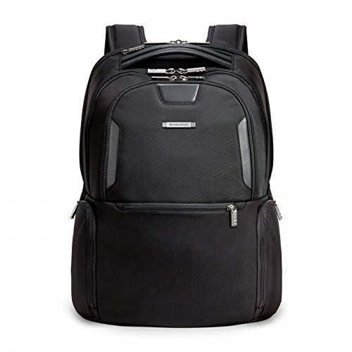 Briggs & Riley Atwork Medium Multi Pocket Backpack, Black, One Size