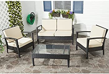 Mercury Row Cade 4-Piece Seating Set with Cushion