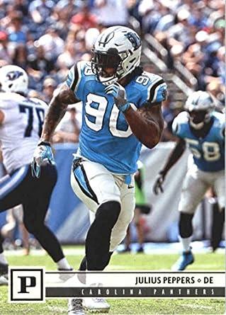 2018 Panini NFL Football  45 Julius Peppers Carolina Panthers Official  Trading Card d592a7a5c