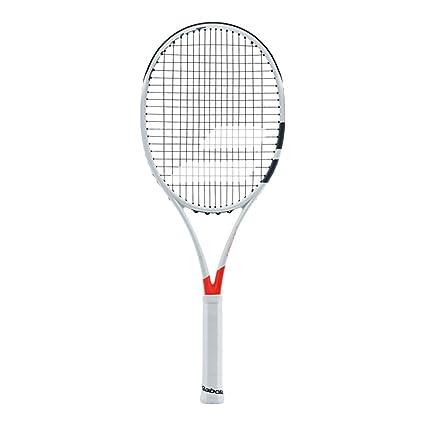 "Babolat Pure Strike 25 Junior Grey/Orange/White Tennis Racquet (4"" Inch"