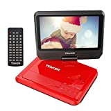 "TENKER 9.5"" Portable DVD Player with"